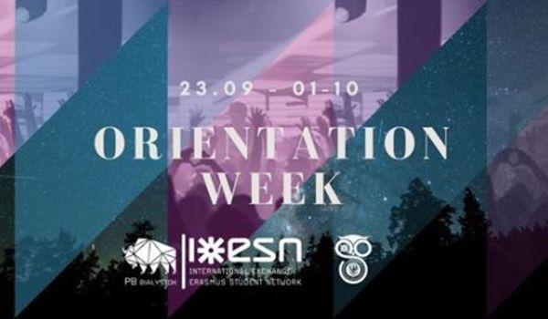 Going. | Orientation Week | Esn Pb & Esn Uwb - ESN PB
