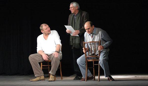 Going. | Scenariusz Dla Trzech Aktorów