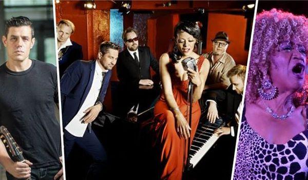 Going.   Bonita & The Blues Shacks / Nick Schnebelen Band / Trudy Lynn