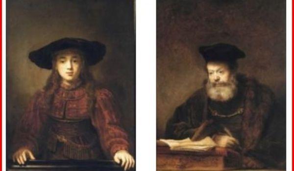 Going. | Galeria Lanckorońskich - Obrazy Rembrandta. - Zamek Królewski