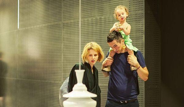 Going. | Muzealne zmysły – zajęcia rozwojowe dla niemowląt z opiekunem - Muzeum Miasta Gdyni
