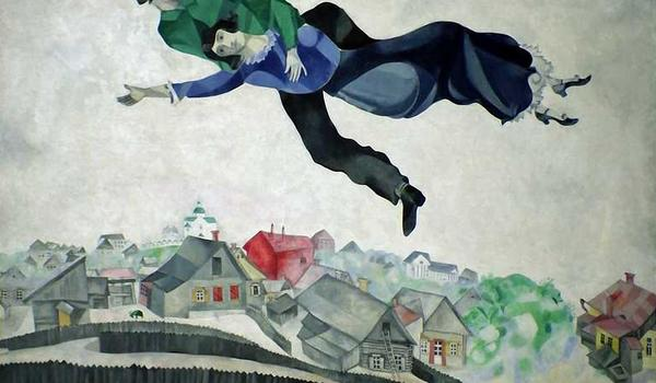 Going. | Śniadanie na trawie ze sztuką w tle – Marc Chagall - Siemianowickie Centrum Kultury (siedziba główna)