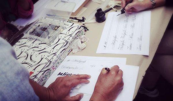Going. | Warsztat kaligrafii Copperplate - DeKato