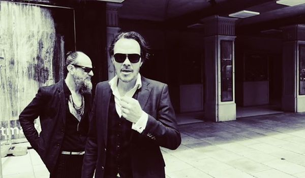 Going. | Hugo Race & Michelangelo Russo / Jazz Ring Festival - Klub Dragon