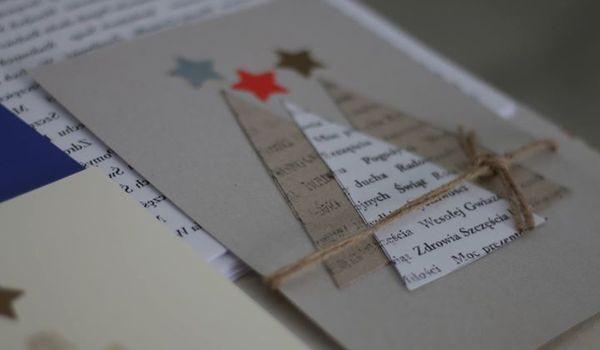 Going. | Kaligraficzne kartki świąteczne - warsztaty dla dorosłych - Dom Słów