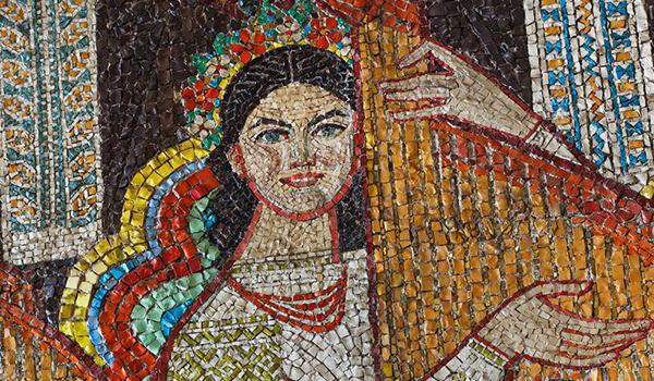 Going. | Zdekomunizowane: radzieckie mozaiki Ukrainy – WERNISAŻ - Galeria Gardzienice