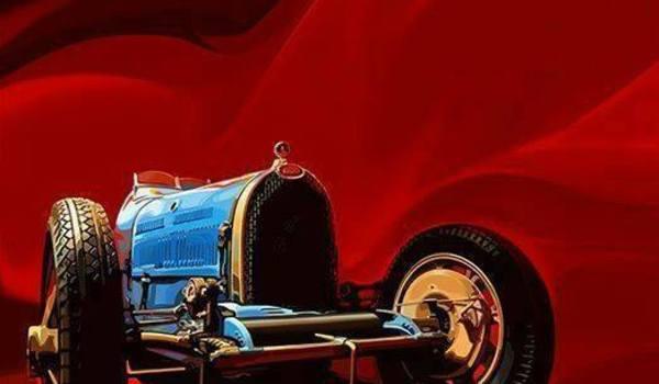Going. | Pierwszy pokaz trailera i szkiców z filmu Mój dziadek w Bugatti - Barbara. Infopunkt, kawiarnia, kultura