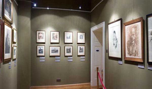 Going. | Sztuka Wrocławia 1850-1945 - Muzeum Historyczne - Pałac Królewski - Oddział Muzeum Miejskiego