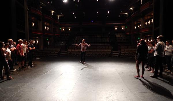 Going. | Jednoaktówki - Teatr Barakah / ArtCafe Barakah