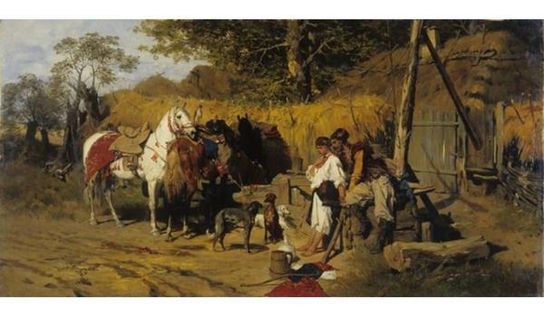 Going. | Niedzielne Oprowadzanie: Józef Brandt 1841–1915 - Muzeum Narodowe