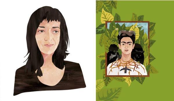 Going. | Zamek Z Książek: Portret-Frida Kahlo - Centrum Kultury ZAMEK w Poznaniu