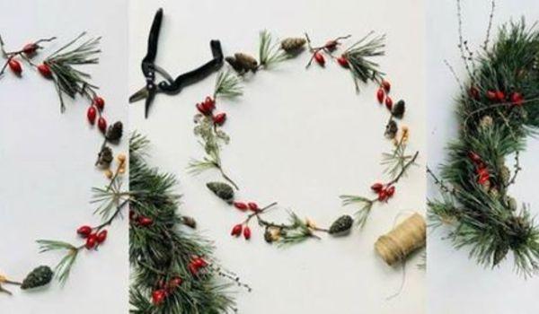 Going. | Świąteczne wianki prosto z lasu - warsztaty z Nagietkami