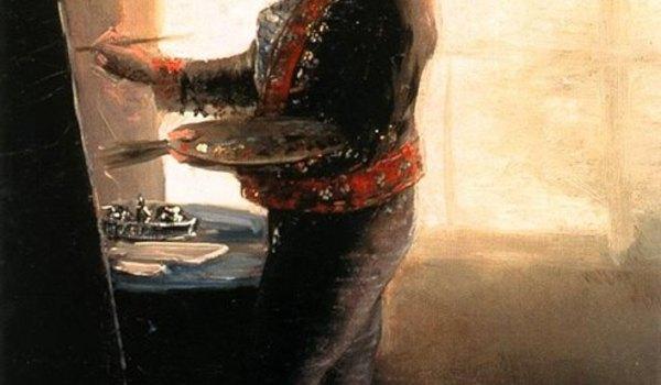 Going. | Goya. Widzenie ciała i krwi z The National Gallery w Londynie