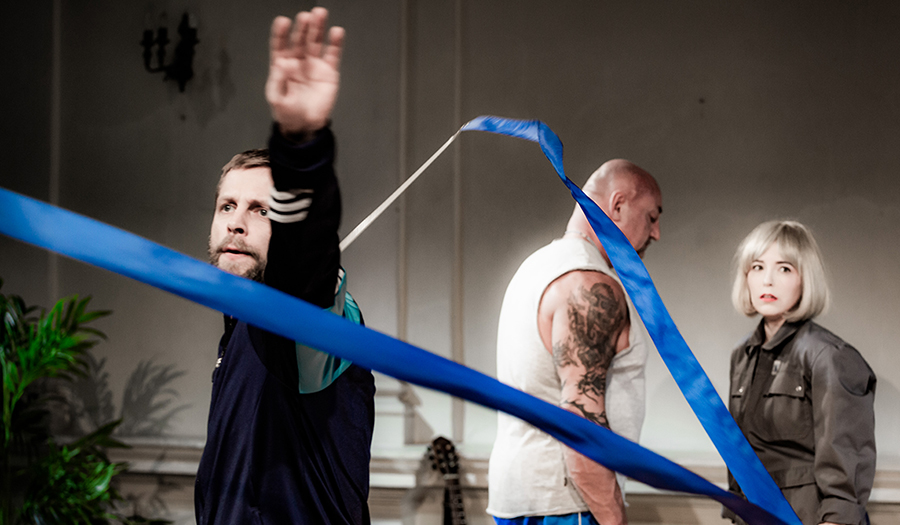 Going. | Szukając Romea, reż. Klaudia Hartung-Wójciak, Teatr Bagatela - Plac Wolności