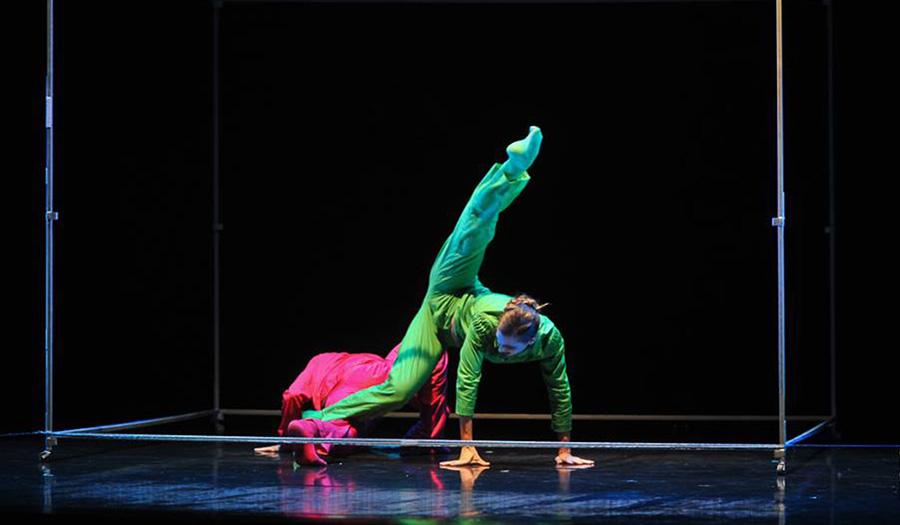 Going. | Fobos – Polski Teatr Tańca, reż. Bruno Duarte - Międzynarodowe Targi Poznańskie hala nr 2