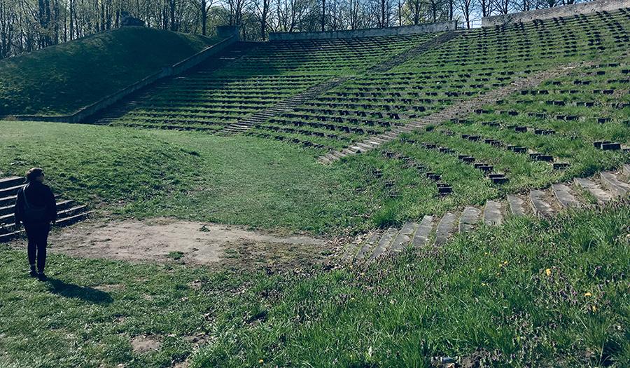 Going. | Partytura dla pokoju – Giorgi Beżuaszwili, Dawid Dąbrowski, Ostap Mańko, Mandar S.Purandare, Viktoria Zybina - Amfiteatr w parku Cytadela